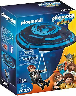 PLAYMOBIL The Movie Rex Dasher with Parachute