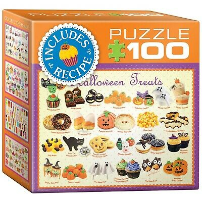 Halloween Treats 100-Piece Mini Puzzle