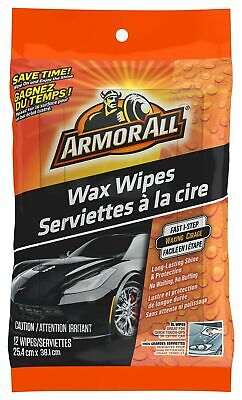 Armor All 18206 Wax Wipes, 1