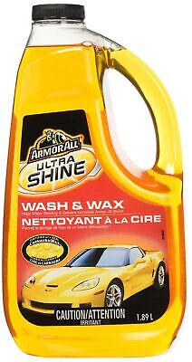 Armor All 11322G Ultra Shine Wash and Wax, 1.89L