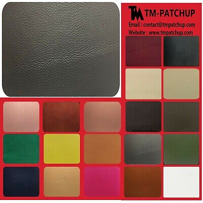 TMpatchup Genuine Leather and Vinyl Repair Patches Kit, Grain Self Adhesive L...