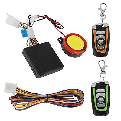 Motorcycle Alarm System,Tangxi 12V Motorcycle Anti-Theft with Remote Control,...