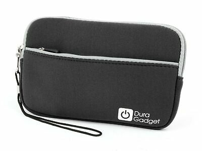 DURAGADGET Black Soft Neoprene Sleeve - Compatible with Garmin DriveSmart 61L...