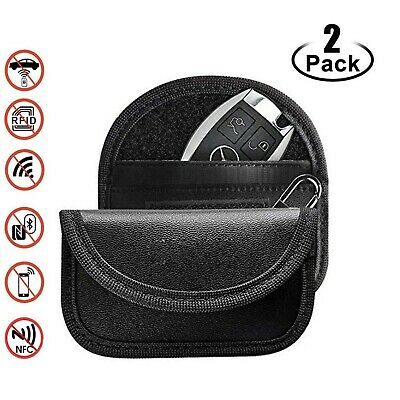 Faraday Bag for Key Fob (2 Pack), Premium Faraday Cage Car Key Protector–RFID...