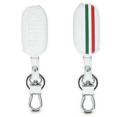 kwmobile Car Key Cover Compatible with Fiat Lancia 3 Button Car Flip Key - PU...