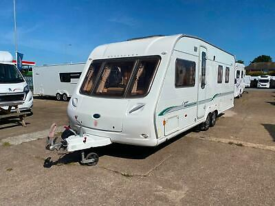Bessacarr Cameo 645 GL 2006 Touring caravan 4 berth fixed island bed