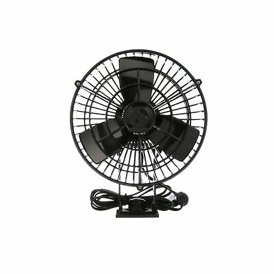 Caframo Kona 12V Weatherproof Variable Speed Fan, Small, Black