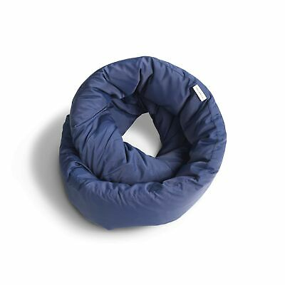 Huzi Infinity Pillow - Versatile Soft Neck Support Scarf Travel Pillow for Sl...