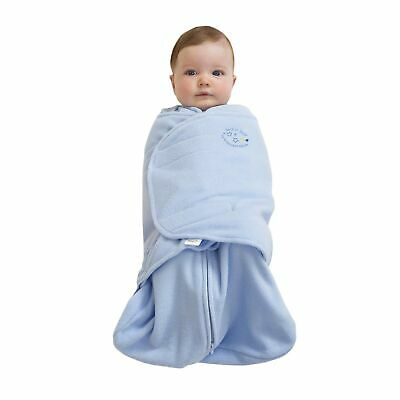 HALO 1497 SleepSack Micro-Fleece Swaddle Newborn Light Blue