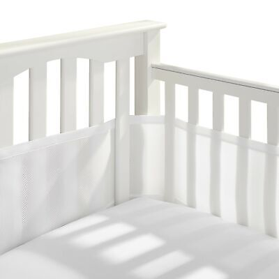 BreathableBaby Classic Patented, Safer for Baby, Anti-Bumper, Non-Padded, Bre...