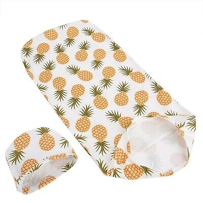 Swaddle Wrap,Newborn Receiving Blanket with Hat Set Baby Wrap Receiving Blank...