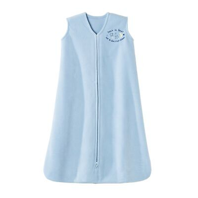 HALO 924 SleepSack Micro-Fleece Wearable Blanket Large Light Blue