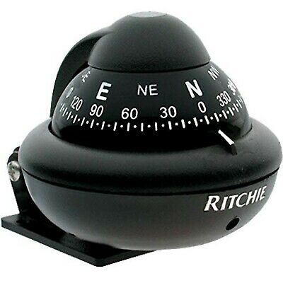 Ritchie X-10M, Ritchiesport Bracket Mount Compass, Black