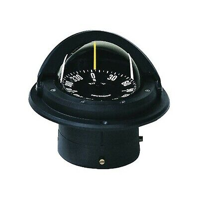 Ritchie Navigation F-82 Voyager Compass - Flush Mount, Black with Black Dial