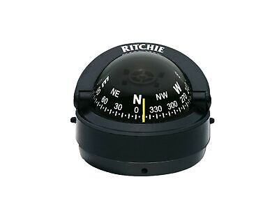 S-53 Ritchie Navigation Explorer Compass 2 3/4-Inch Dial with Surface Mount (...