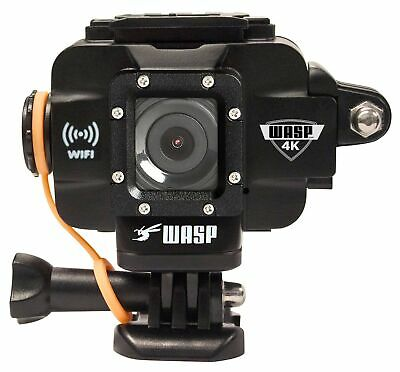 WASP 9907 4K Action-Sports Camera, Black