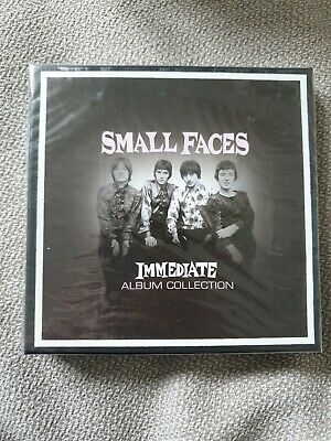 SMALL FACES Immediate Album Collection 3 CD Box Set Sealed Ogdens Autums Stone