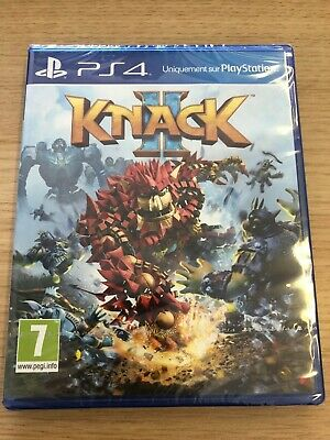 Knack 2 (PS4) New & Sealed - In Stock Now - PAL - Import - Fast & Free