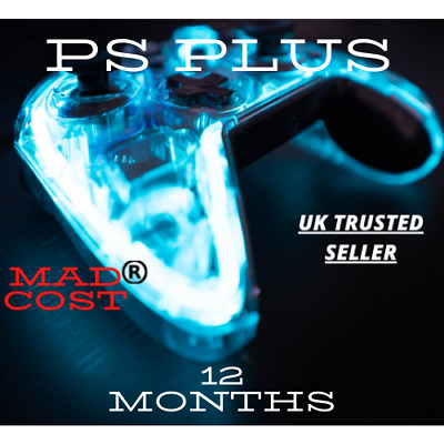12 MonthS PS Plus Membership Instant Delivery No Code (Trusted Seller)