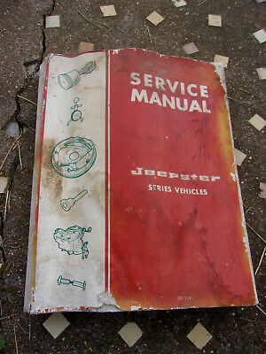Jeepster Series Service Manual Jeepster & Jeepster Commando All Models 1969