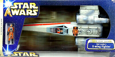 Red Leader X-Wing Fighter Death Star Trench Star Wars Saga Collection Hasbro