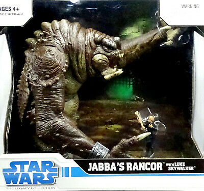 Battle Pack Rancor With Luke Skywalker The Legacy Collection 2008 Von Hasbro