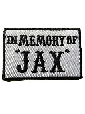 🇨🇦 In Memory Of JAX RIP President Outlaw Biker Vest Anarchy Patch 🇨🇦