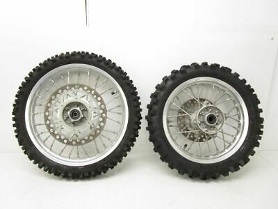 "Kawasaki Pitbike Wheels and Tires KLX 110 Disc Front Rear 14"" 12"""