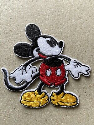 🇨🇦 Disney Mickey Mouse Embroidered Patch  Sew On/stick On /new 🇨🇦