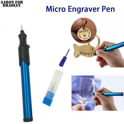 New Mini Micro Engraver Pen Electric Engraving Carve Tool For Jewelry Metal Wood