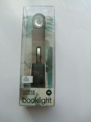 Excellent M & S Booklight.unopened In Box.mint Condition.