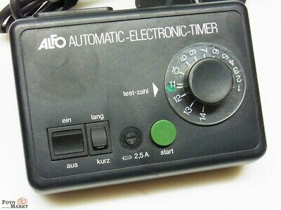 Alfo Automatic Electronic Timer Exposure Timer For Magnifier Laboratory Timer