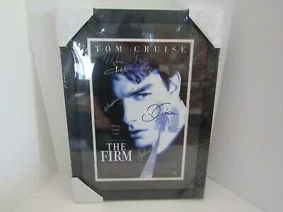 Framed Wall Art Picture Movie Poster Signed Autograph The Firm Tom Cruise