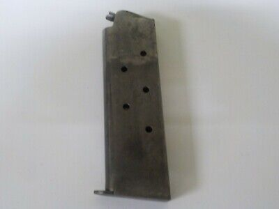 Original WWI COLT 1911 Pistol Magazine TWO TONE unmarked COLT made WWI 1911 Mag