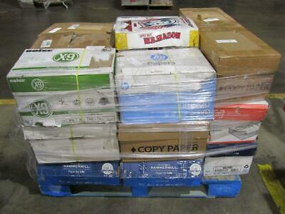 """Assorted Copy Paper Boxes Pallet 8.5"""" x 11"""" - Lot of 24 Cases"""