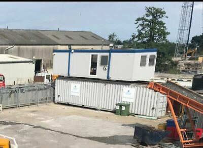 24ft Mobile office / workshop building- Container. Portable Cabin