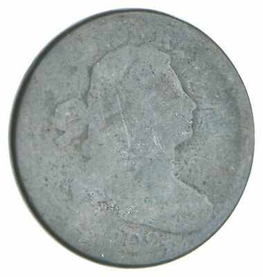 Tough - 1802 Draped Bust Large Cent - US Early Copper Coin *709