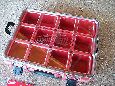 Milwaukee 48-22-8030 Jobsite Deep Compartment Organizer, Red