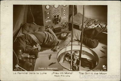 Actor RPPC The Girl in the Moon Real Photo Post Card Vintage