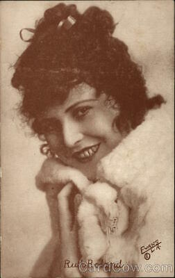 Actress Photograph of Ruth Roland Postcard Vintage Post Card