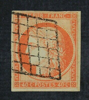 CKStamps: France Stamps Collection Scott#7 Used Thin