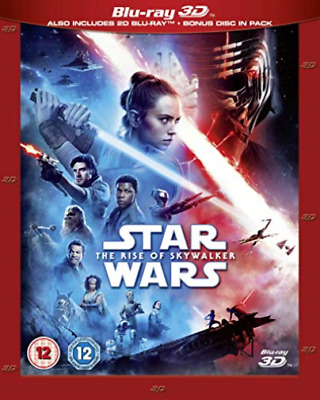 Star Wars The Rise Of Skywalker 3D Bd Re (UK IMPORT) BLU-RAY NEW