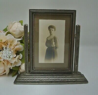 """Vintage Swing Swivel Picture Frame 7-3/4"""" High"""