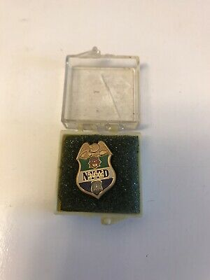 Vintage NYPD Pin With Case