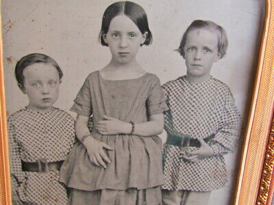 rare Wilson children 1/2 plate ambrotype by African American J. P. Ball Gallery