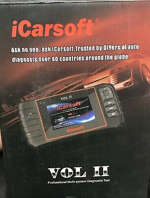 iCarsoft VOL II OBDII Diagnostic Tool for Volvo Saab Multi Systems
