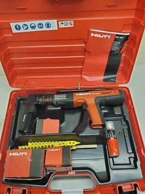Hilti DX 351 Powder-Actuated Tool Nail Gun Kit 2/B50436A