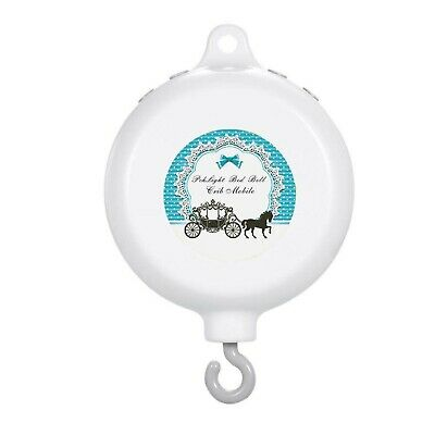 New 12 Type Automatic Bed Bell Crib Baby Musical Mobile Volume is adjustable
