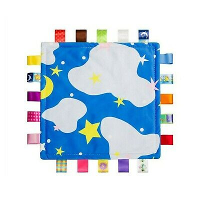 YeahiBaby Tag Blanket Baby Security Blankets Doudou Compagnie Toy (Starry Sky)