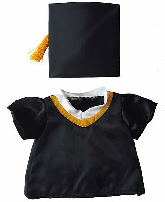"Graduation Cap & Gown Outfit Teddy Bear Clothes Fit 14"" - 18"" Build-a-bear, V..."
